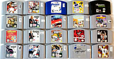 HUGE LOT 20 DIFFERENT NINTENDO 64 N64 GAMES CLASSIC TITLES TETRISPHERE STAR WARS