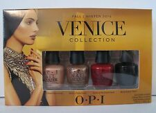 OPI Mini Nail 4 Pack Lacquer Polish 2015 Venice Collection