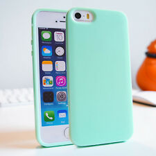 Soft Slim Glossy Skin Silicone Gel TPU Bumper Cover Case for iPhone 6 5s 5 4 4s