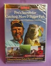 RAPALA Pro's Secrets for Catching More & Bigger Fish DVD Video - FREE Shipping!