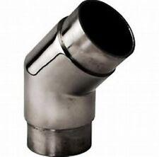 Stainless Steel Mirror 135 degree Flush Angle Fitting-Bar Rail 135/45 Degree