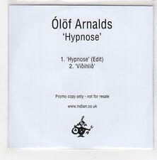 (GE678) Olof Arnalds, Hypnose / Vioihlio - 2015 DJ CD