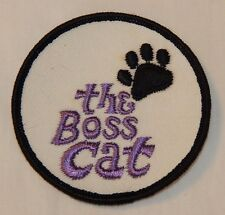 Vintage Ski Do The Boss Cat snowmobile advertising patch