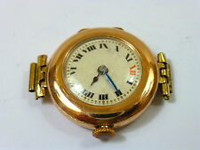 1915 LADIES 9K GOLD ROLEX IN GOOD CONDITION RUNS FOR REPAIR