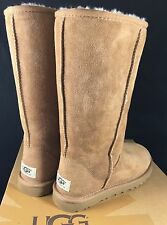 UGG Australia 5 6 Classic Tall Sheepskin Boot Sand Chestnut Chocolate Black 5815