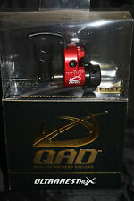 QAD Ultra Rest HDX Red Drop Away Arrow Rest Right Hand Free Knife DVD