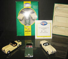 CORGI TOYS LIMITED EDITION GIFT SET  JAGUAR XK120 RARE SET SCALA 1:43