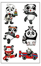 Premium Panda Bear Tattoos, Children's Party Favors