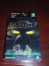 Sealed Lego Technic Bionicle Trading Card Game Quest for the Masks Deck 3