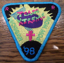 1998 Team Extreme Michigan Pow Wow Royal Rangers Rr Uniform Patch