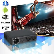3D Wifi 4800LX  Mini DLP Proyector Full HD Multimedia LED Home Theater HDMI VGA