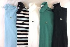 Lacoste Men's Lot of 5 Polo Shirts Size Large, EUR 5 [BC15443]