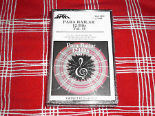 LP LATIN: VARIOS PARA BAILAR VOL. 2 ,12 HITS 1985 SAR RECORDS  CASSETTE RARE NEW
