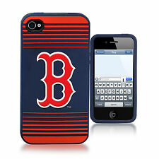 Boston Red Sox All Silicone IPHONE 4/4S cell phone cover/case - New Style