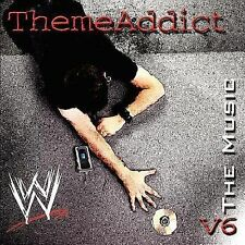 Wwe Compilation - Wwe Theme Addict Music V06 (2004) - Used - Compact Disc
