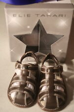 NWT Elie Tahari baby shoes size 3, brown, Baby Philip Fisher