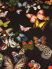 "DESIGNERS GUILD CURTAIN FABRIC ""Butterfly Parade"" perfect stock buy per metre"