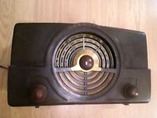 Zenith Radio AM FM & old FM Bakelite 1948 / 1949  Working  Model 7H820  Kutztown