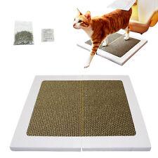 Foldable Cat Kitten Scratch Mat Claws Clean Scratcher Board Pad Toy Multipurpose