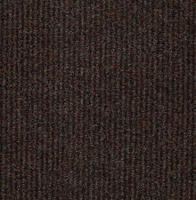 20 Broad Rib Hampton Brown Heavy Duty CARPET TILES For Commercial Use