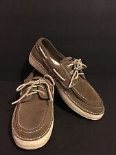 Mens SPERRY Top-Sider Largo 3 Eye 0784157 ~ Size 8 leather laces cushion insoles
