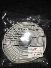 30M Ethernet CAT 5e RJ45 Network Cable-Grey High quality Gold Plated Connectors