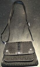 Brighton Cross Body Small Black Purse