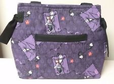 Nightmare before Christmas JACK handmade Purse Totebag Diaper bag purple & black