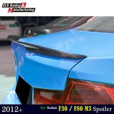 For BMW F30 & F80 M3 Sedan Carbon Fiber M Performance Rear Trunk Boot Spoiler