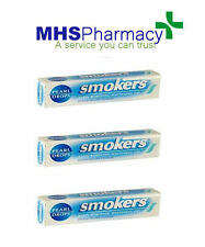 3x50ml Pearl Drops Smokers Stain Gel Tooth Paste Toothpaste