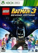 LEGO Batman 3: Beyond Gotham 2014 XBOX 360 Game KIDS Complete Ln