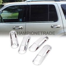 Chrome Side Door Handle Cover for 2002-2010 Ford Explorer Mercury Mountaineer CT