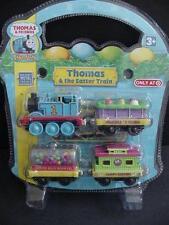 NEW THOMAS Take Along  Easter Train 4pc Die Cast Metal Train Cars n Play Engine