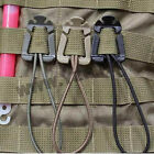 Free Shipping Lot 2PCS EDC Tool Backpack Carabiner Molle Buckle Bag Clip Winder
