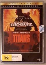 National Treasure / Remember The Titans (2 Discs) DVD **NEW/SEALED** (Region 4)