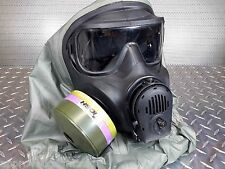 Avon M53 C50 M50 Protective Gas Mask 40mm NATO w/Everything! Filter Exp: 11/2024