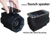 Boombox Touch Speaker Resonance Speaker Cell Phone Wireless Connection