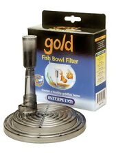 Interpet Goldfish Bowl Filter Under Gravel Cold Water Fancy Fish Etc