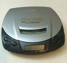 Used Sony Discman D-191 Personal CD Player Digital Mega Bass Tested Works