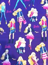 BARBIE Fashion Mattel Fabric 100% Cotton Fabric VIP Cranston *By the FULL YARD*