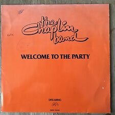 "Chaplin Band Welcome To The Party 12"" maxi 80s dutch funk soul disco rare groove"