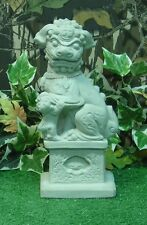 Foo Dog Fu Lion Guardian Left Production Latex Fiberglass Mold Concrete Plaster