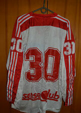 USA NATIONAL TEAM MATCH WORN ? ICE HOCKEY SHIRT JERSEY MAGLIA ADIDAS VINTAGE #30