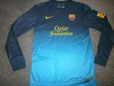 Raro 2012/13 Barcelona Portero Manga Larga Camiseta De Fútbol-Pequeño