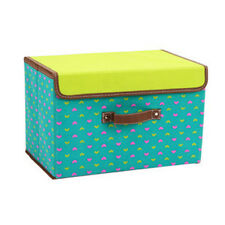 Portable Home Folding Storage Box For Clothes Underwear Sundries Container New