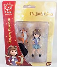 The Little Prince Exclusive Figurines Girl and Fox Hape New