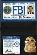 X-Files Badge d'identification Fox Mulder saison 10 New mulder id card replica