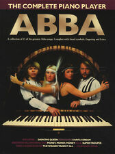 The Complete Piano Player ABBA Sheet Music Book Super Trouper Mamma Mia Waterloo