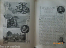 Old Antique Edwardian Illustrated Article 1907 Ranelagh What it Was and Is Polo