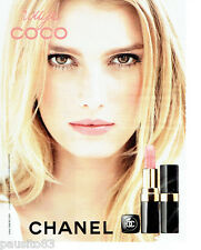 PUBLICITE ADVERTISING 086  2012  Chanel maquillage Rouge coco B. Palvin
